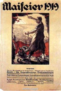 1.Mai-Plakat 1919