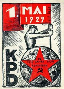1.Mai-Plakat 1929